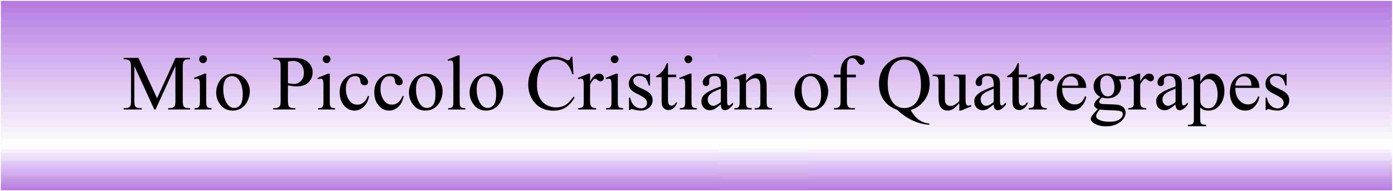 Nom Cristian