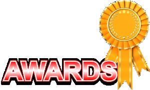 Awards Ribon Gold